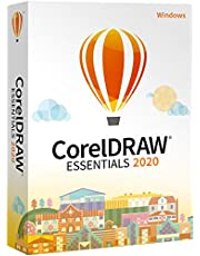 CorelDRAW Essentials 2020 | Graphic Design, Vector Illustration, Page Layout Software for Creative Hobbyists and DIY'ers | Calendars, Cards, Social Media Images and More [PC Download] [Old Version]