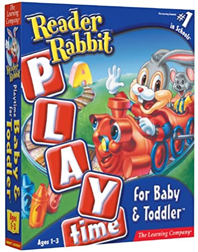 Reader Rabbit Playtime for Baby and Toddler [OLD VERSION] by The Learning Company