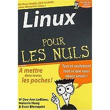 LINUX POCHE POUR LES NULS 2ÔME DITION