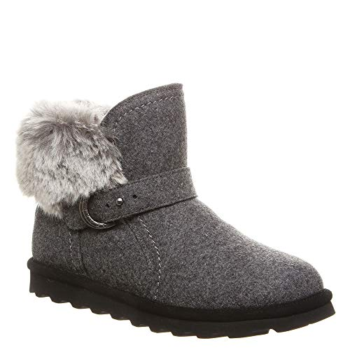 BEARPAW Women's Koko Gray Wool 9 M US]()