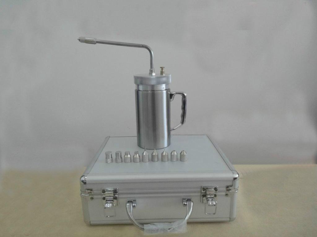 Criogénico líquido nitrógeno (LN2) Rociador de tanque Dewar ...
