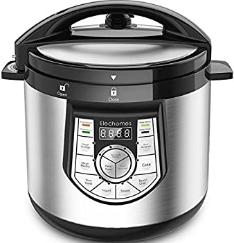 Elechomes 12-in-1 6 Qt Programmable Electric Pressure Cooker