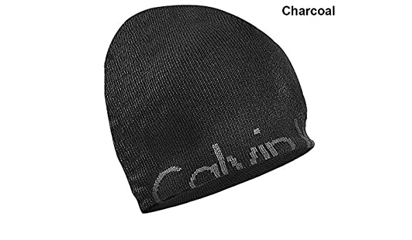 55addaf0817 Calvin Klein- Hidden Rolled Logo Beanie Charcoal at Amazon Men s Clothing  store