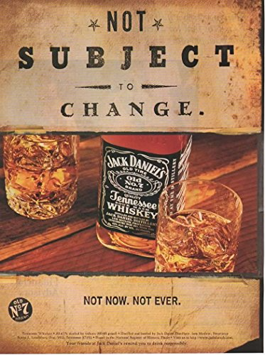 Magazine Print ad: 1997 Jack Daniel's Old No. 7 Tennessee Sour Mash Whiskey,