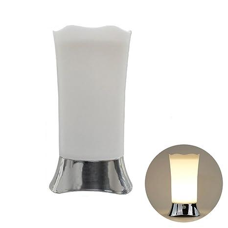 ledmomo lámpara de escritorio Sensor de movimiento inalámbrico luz de noche lámpara de mesa portátil con