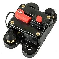 KUMEED Circuit Breaker Trolling Motor Auto Car Marine Boat Bike Stereo Audio Inline Fuse Inverter