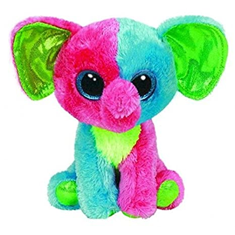 f0f6f678673 Image Unavailable. Image not available for. Color  Ty Beanie Boos Elfie -  Elephant ...