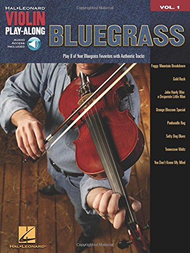 Bluegrass: Violin Play-Along Volume 1 (Hal Leonard Violin Play-along) -