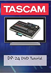 The Tascam DP-24 DVD Tutorial is designed to be more than just a complete guide to using the DP-24: it teaches basic recording techniques to musicians getting their first start in recording. While the DP-24 is a powerful easy to use portable ...