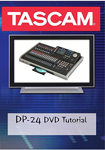 Tascam DP-24 DVD Video Tutorial Manual Help