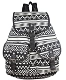 Yonger Vintage Causal Canvas Travel Rucksack Hobo Satchel Book Bag Backpack Schoolbag Woman Review