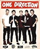 One Direction 1D English Irish Pop Boy Band Music Group Thick Cardstock Poster 18x24