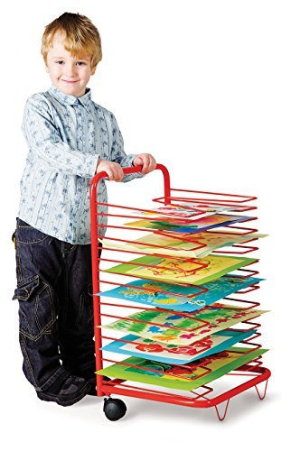17 Level Mobile Drying Rack for Classrooms  by NS