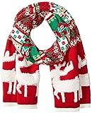 Collection XIIX Women's Christmas Holiday Reindeer Print Muffler
