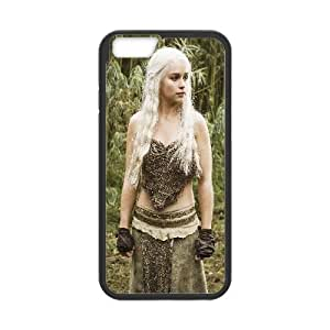 Daenerys Targaryen Game Of Thrones Tv Show iPhone 6 4.7 Inch Cell Phone Case Black Personalized Phone Case LK5S97LS6