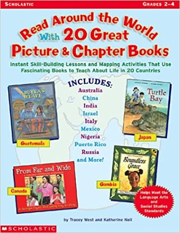 Amazon Read Around The World With 20 Great Picture Chapter Books 9780439249850 Tracey West Katherine Noll