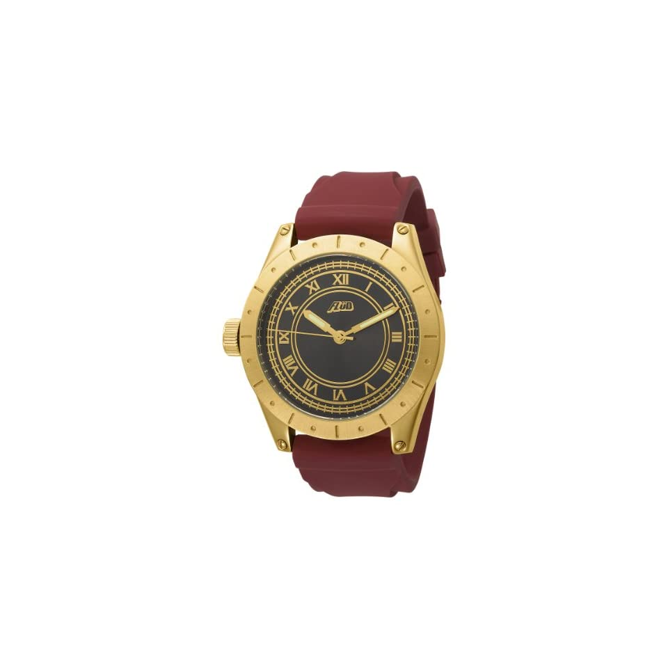 Flud Mens BBN007 Big Ben Gold Tone Gun Metal Dial Watch