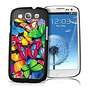 AES - Butterfly Pattern 3D Effect Case for Samsung S3 I9300