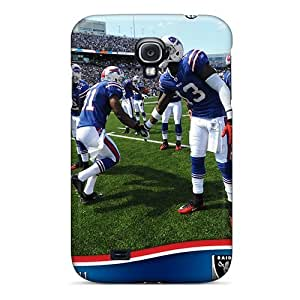 New Design Shatterproof EZL1096cqkI Case For Galaxy S4 (buffalo Bills)