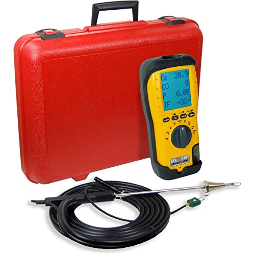 UEi Test Instruments C257-N LL EOS Industrial Combustion Analyzer with NOX, NIST-Calibrated (Ll Combustion Analyzer)