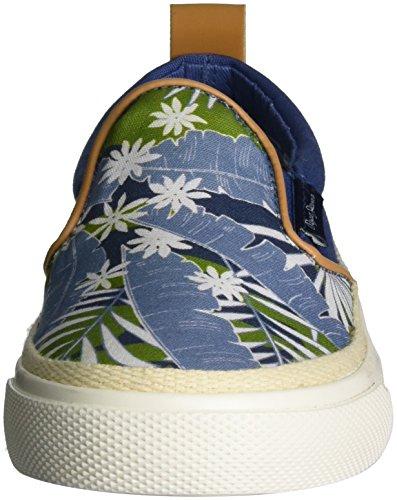 Pepe Jeans London Traveler Indigo, Zapatillas Para Niños Azul (Indigo)