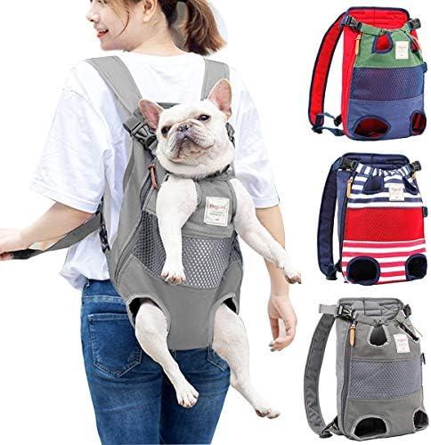 PETCUTE Rucksäcke für Hunde mittel große Hunde hundetragetasche hundetasche Verstellbarer transporttasche Rucksack für Wandern, Reisen, Camping, Unterstützung bis zu 12 kg