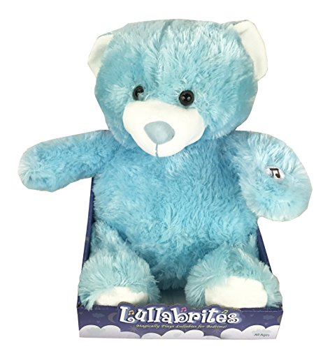 Lullabrites 12 Blue Bear in Box Doll As Seen on TV Plush
