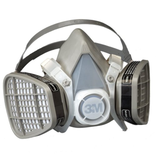 sposable Respirator Assembly 5201/21571, Organic Vapor Respiratory Protection, Medium (Pack of 1) ()