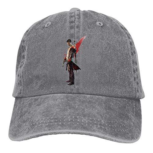 V For Vendetta Hat Type (Kinggo Breathable Hat DMC Devil May Cry Dante Fashion Baseball Caps)