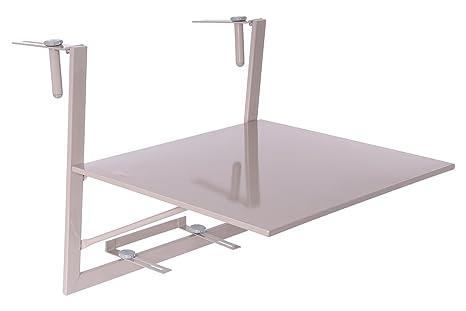 Tavolo Da Terrazzo Pieghevole : Tavolo da balcone in sospensione e pieghevole tavolo con ripiano
