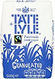 Tate and Lyle Fairtrade Granulated Sugar 500 G (pack Of 10)