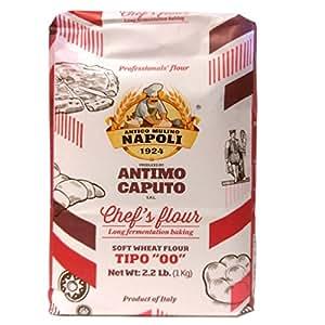 "Amazon.com : Antico Molino Caputo Chef's Flour Tipo ""00"" 1"