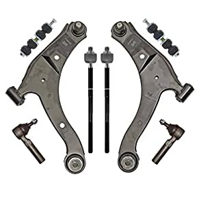 Amazon PartsW 8 Piece Suspension Steering Kit for #2: 51E8XC20LlL SY300 QL70