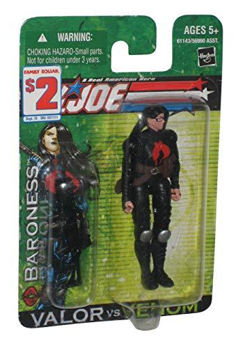 G.I. Joe Valor vs. Venom: Baroness (Cobra Intelligence Officer) 3.75 Inch Action Figure