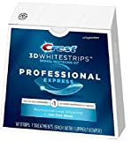 Crest 3D Whitestrips Professional Express Teeth Whitening Kit - 7ct Remove 1 year of stains in 1 hour