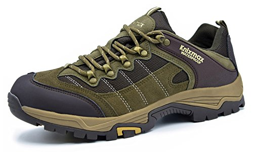 Hiking Outdoor Trainers Shoes Low Trekking Boots Rise Climbing Women's Walking Brown Waterproof Lightweight Knixmax BqvE0