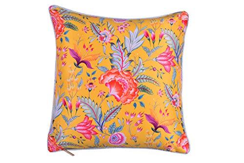 Decozen Exquisite Chintz Cushion Whiteout Print 1 600 GMS 20