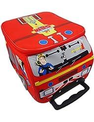 Fireman Sam Character Luggage Bag