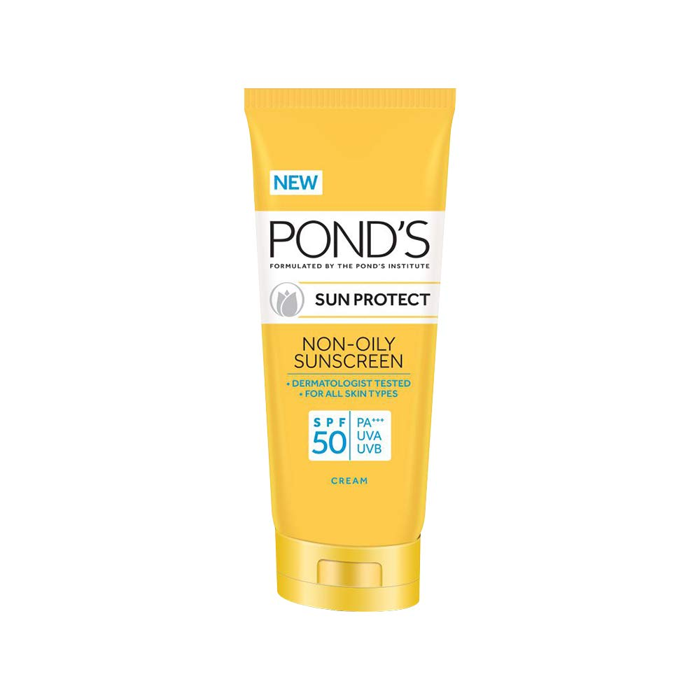 POND'S SPF 50 Sun Protect Non-Oily Sunscreen, 80 g product image