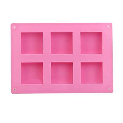 3D Silicone Aroma Candles Wax Tablets Mould Chocolate Cake Handmade Tool Crafts