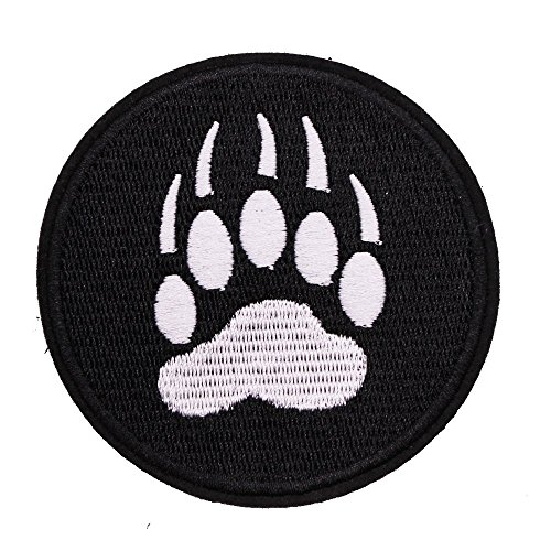 U-Sky Sew or Iron on Patches - Bear Paw ()