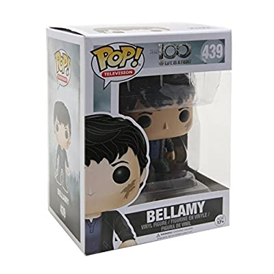 Funko POP TV The 100 Bellamy Blake Toy Figure: Artist Not Provided: Toys & Games