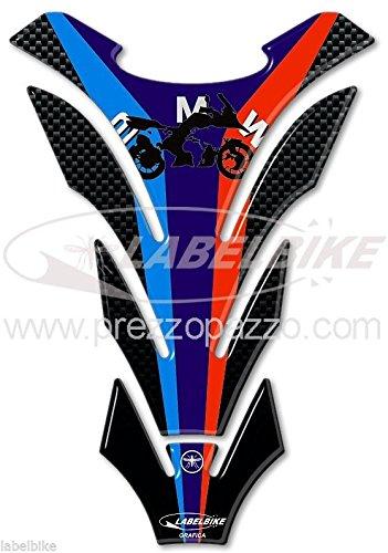 PARASERBATOIO 3D gel PROTEZIONE SERBATOIO compatibile per MOTO BMW anniversario