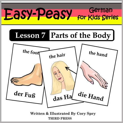 German Lesson 7: Parts of the Body (Easy-Peasy German for Kids)