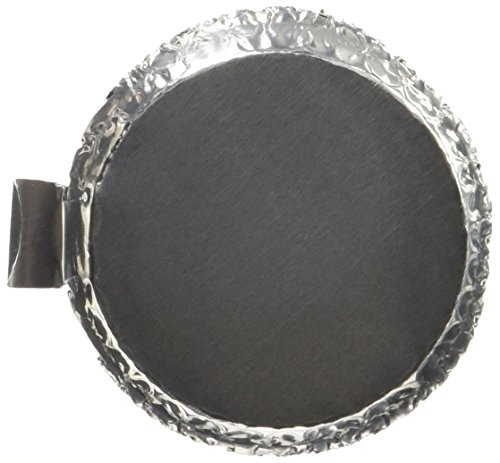 Heathrow HS14521A Aluminum Weighing Dishes, Small, 43 mm Diameter x 12 mm Height (Pack of 100)