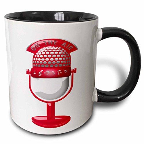 222679_4 Vintage Microphone Musical Ceramic