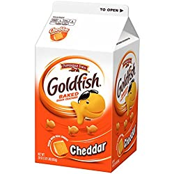 Pepperidge Farm Goldfish Crackers, Cheddar, 30 oz carton