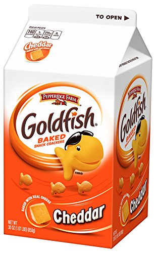 Pepperidge Farm Goldfish Crackers Cheddar
