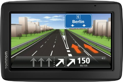 TomTom Start 25 M Europe Traffic, Navigationsgerät (Free Lifetime Maps, 13cm (5 Zoll) Display, TMC, Fahrspurassistent, Parkassistent, IQ Routes, Europa 45) schwarz