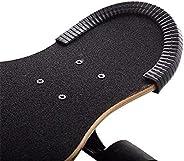Set of 2 12inch Skateboard Deck Guards Protector Longboard Short Board Edge Protection Shock Absorbing U Rubbe